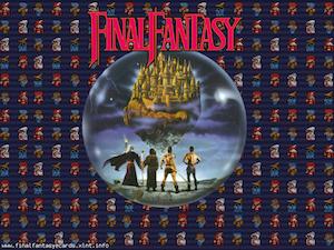 Final Fantasy I ecard 1