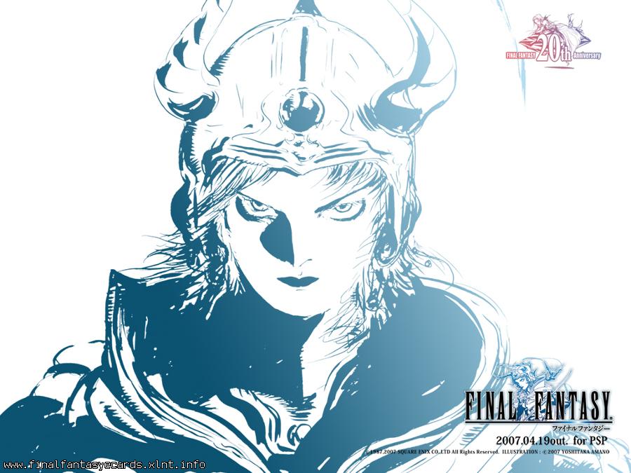 Final Fantasy I ecard 3