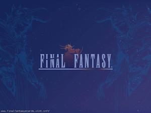 Final Fantasy I ecard 6