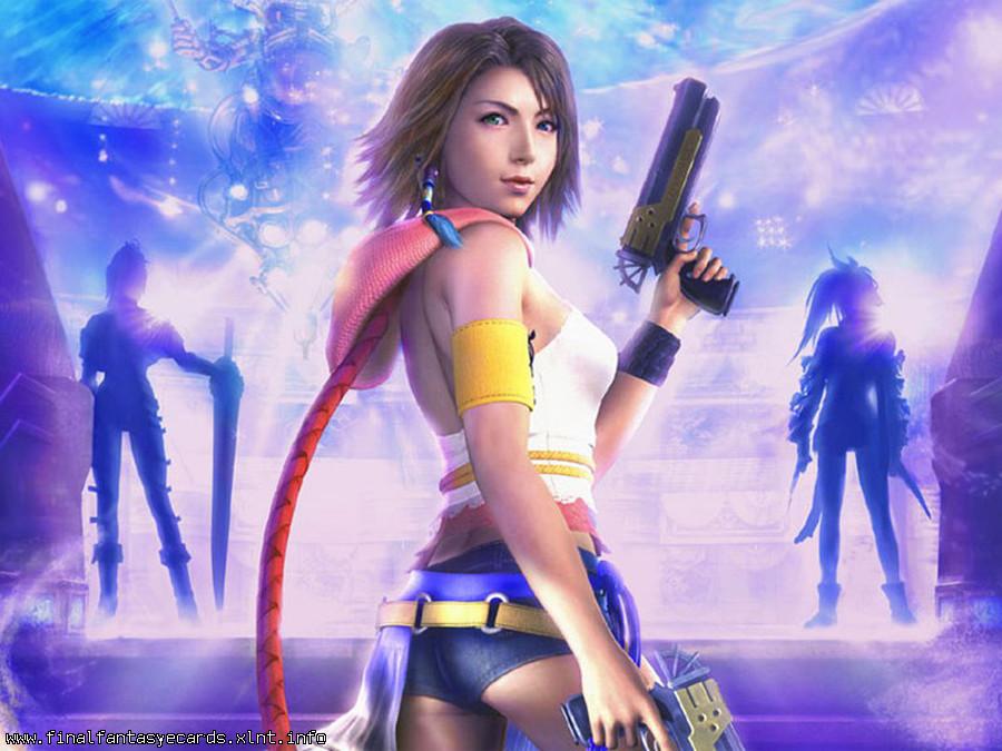 Final Fantasy X-2 ecard 2