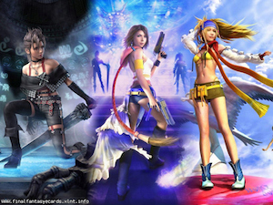 Final Fantasy X-2 ecard 1