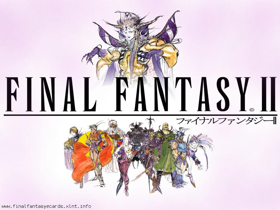 Final Fantasy II ecard 1