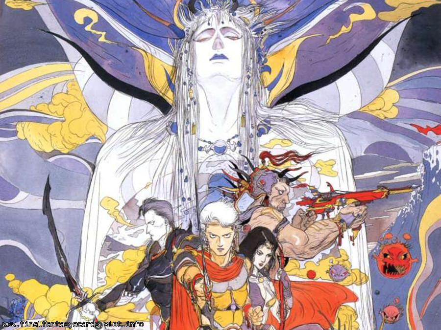 Final Fantasy II ecard 3