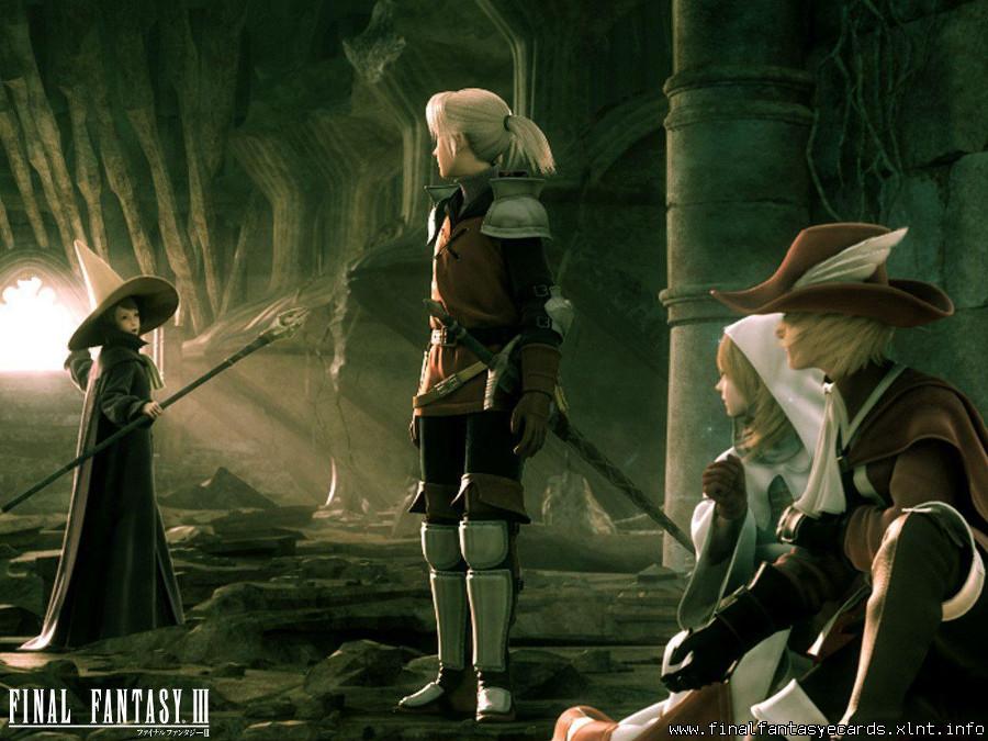 Final Fantasy III ecard 2