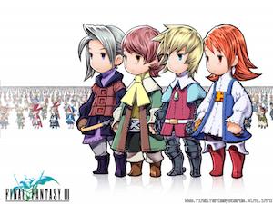 Final Fantasy III ecard 4