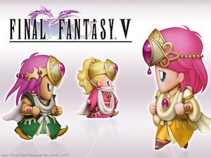 Final Fantasy V ecard 1