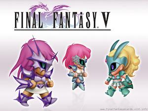 Final Fantasy V ecard 5