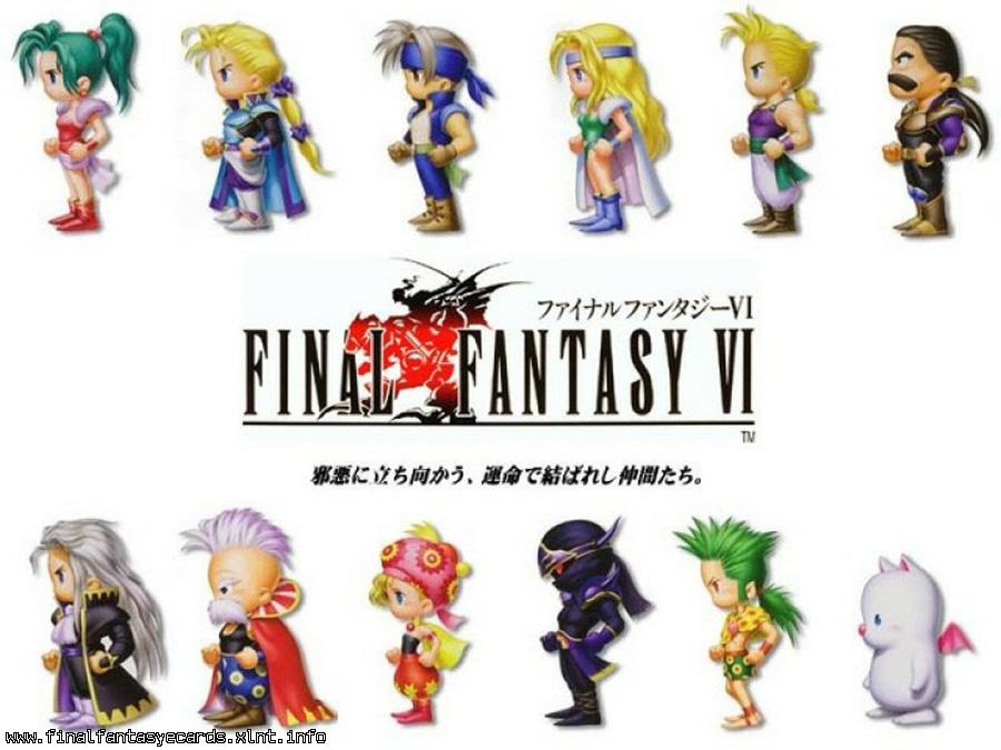 Final Fantasy VI ecard 1