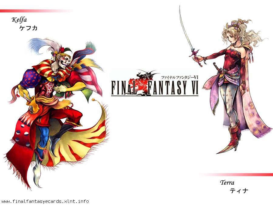 Final Fantasy VI ecard 5