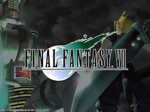 Final Fantasy VII ecard 1
