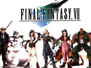 Final Fantasy VII ecard 3