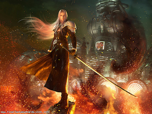 Final Fantasy VII ecard 4