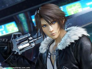 Final Fantasy VIII ecard 3