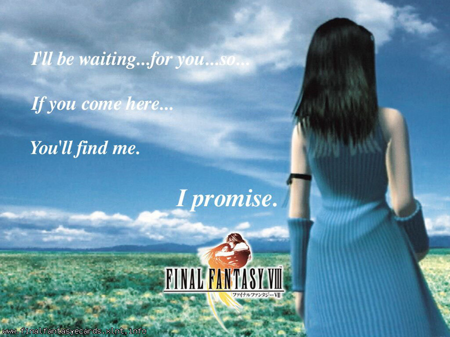 Final Fantasy VIII ecard 6