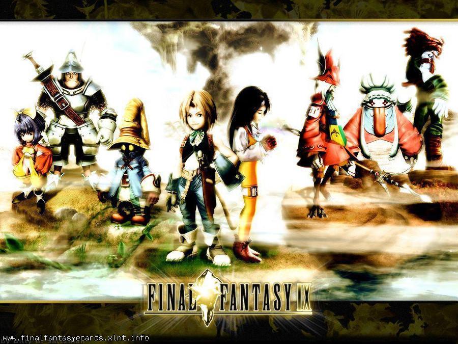 Final Fantasy IX ecard 5