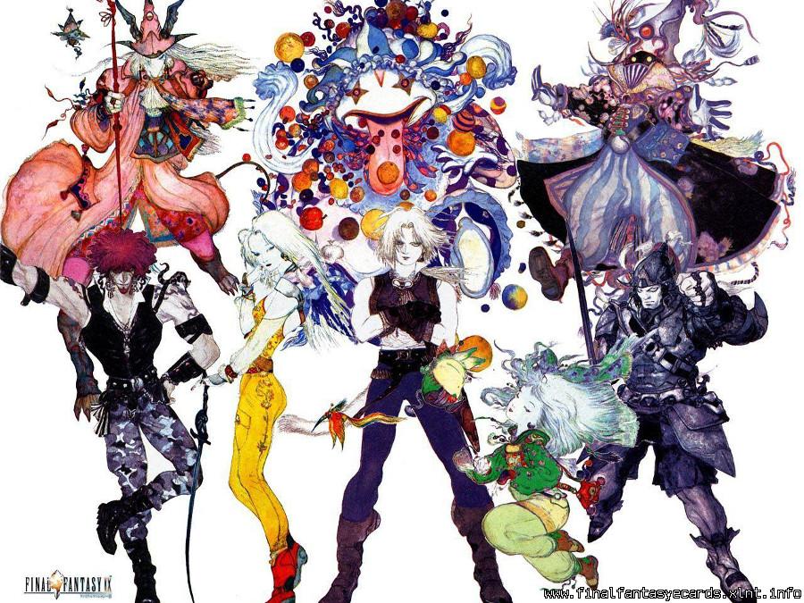 Final Fantasy IX ecard 6
